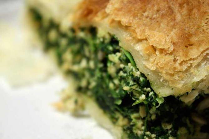 Spinach Pie | © Suzette/Flickr