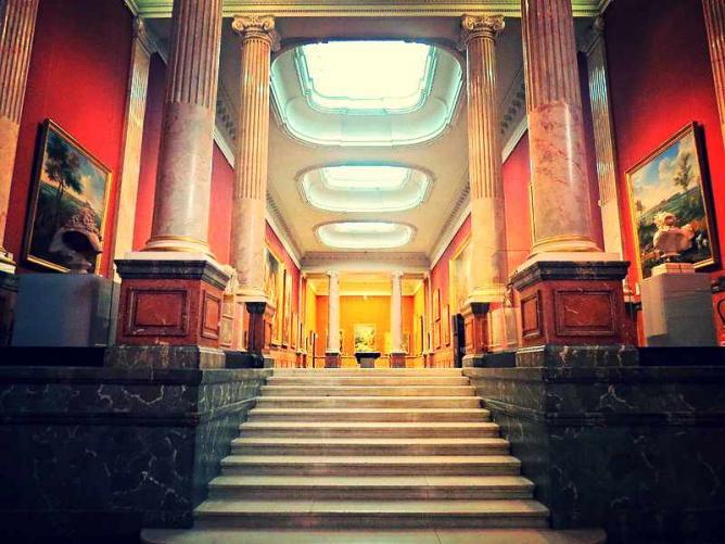 Musée Fabre's Galerie des Colonnes   © RomainBréget/WikiCommons