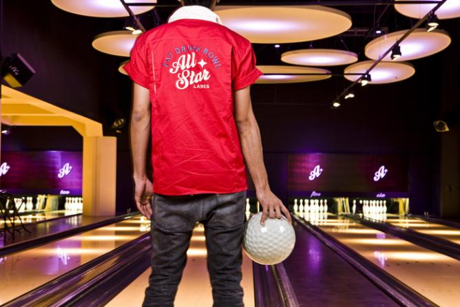 Bowling in style | © All Star Lanes, Brick lane