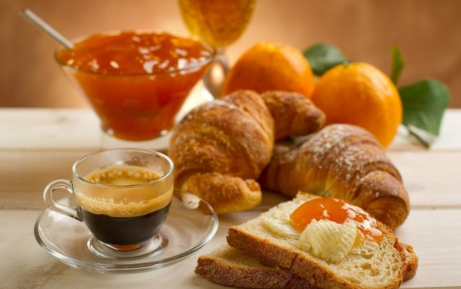 French-style breakfast