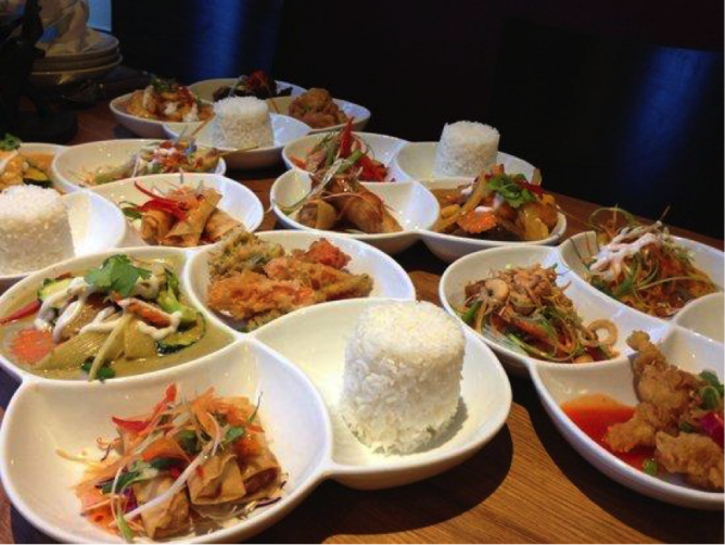 Nadon Thai lunch tapas set | © Nadon Thai