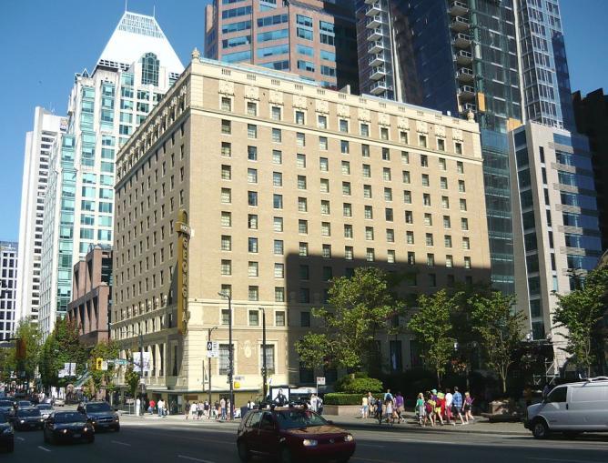 Rosewood Hotel Georgia   © Canadian2008 / WikimediaCommons