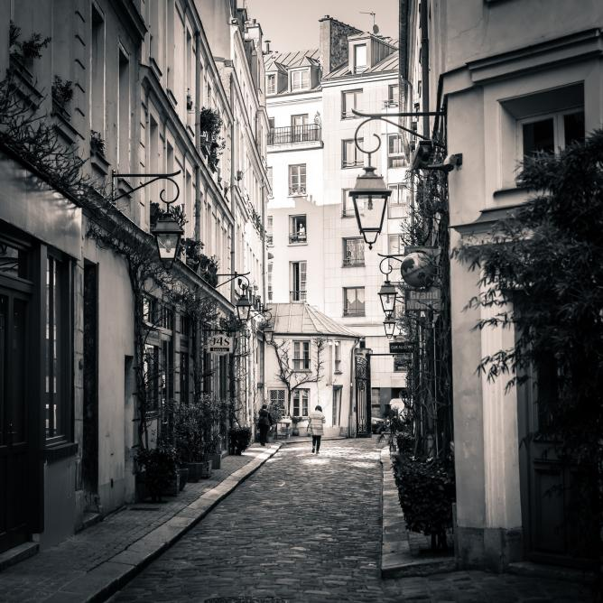 Cour Damoye, Bastille, Paris | © billknock/Flickr