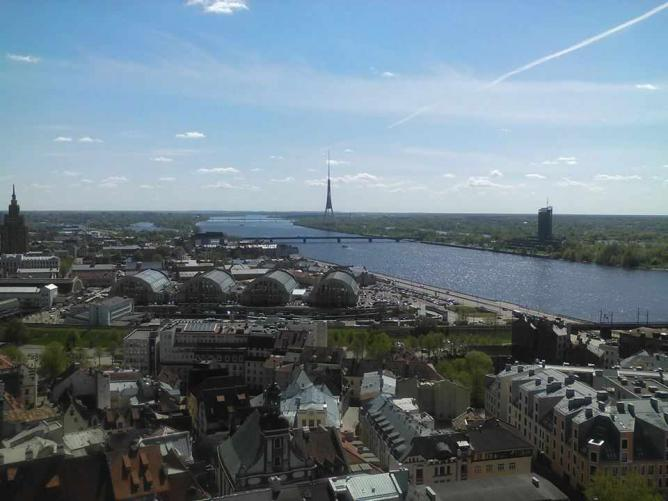 Panorama of Riga from Saint Peter's Church | © Valentine Baldassari