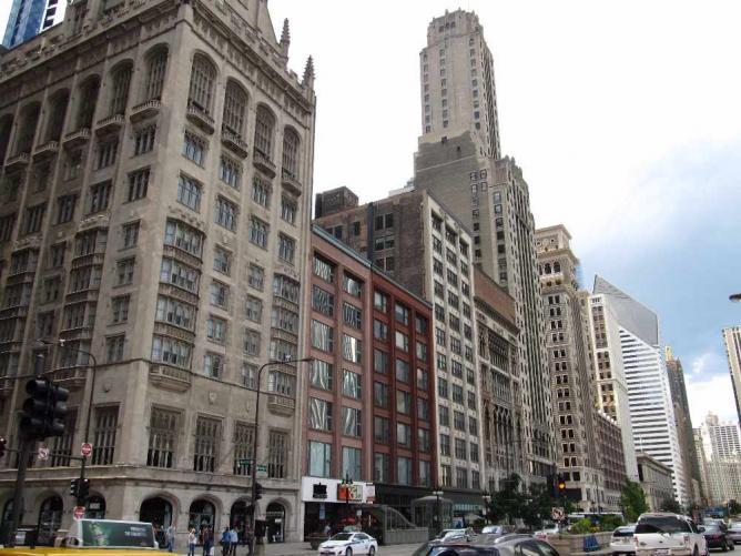 Historic Michigan Boulevard District Chicago