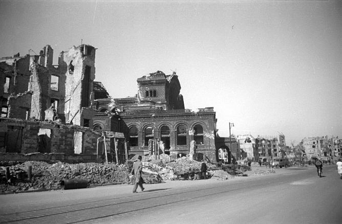 Bombing of Kreuzberg, World War II | © Deutsche Fotothek/WikiCommons