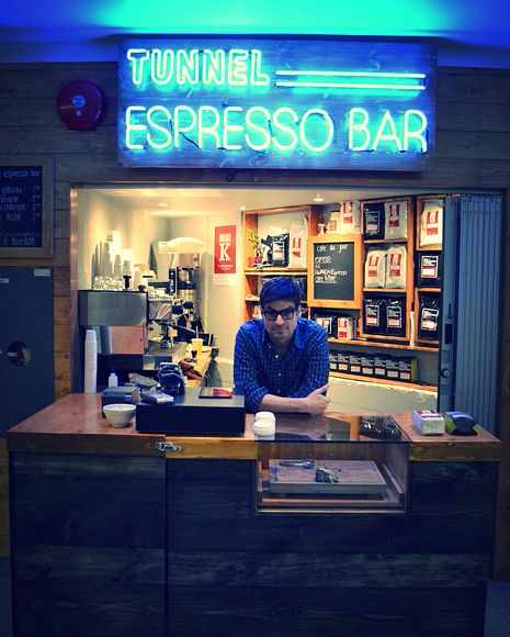 Tunnel Espresso Bar | ©Pinterest/Leah Smith