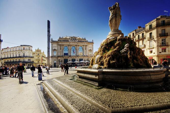 Place de la Comédie   © WolfgangStaudt/WikiCommons