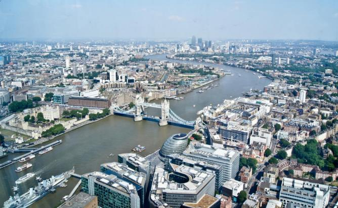 The Best Aerial Views Of London