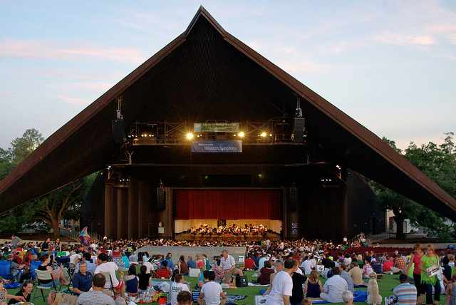 Symphony at Miller Outdoor Theatre