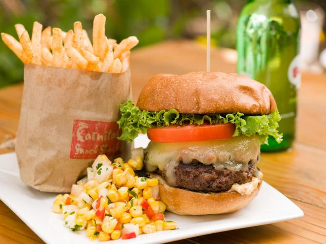 Carnitas' Snack Shack Burger | Courtesy of Adam Roop