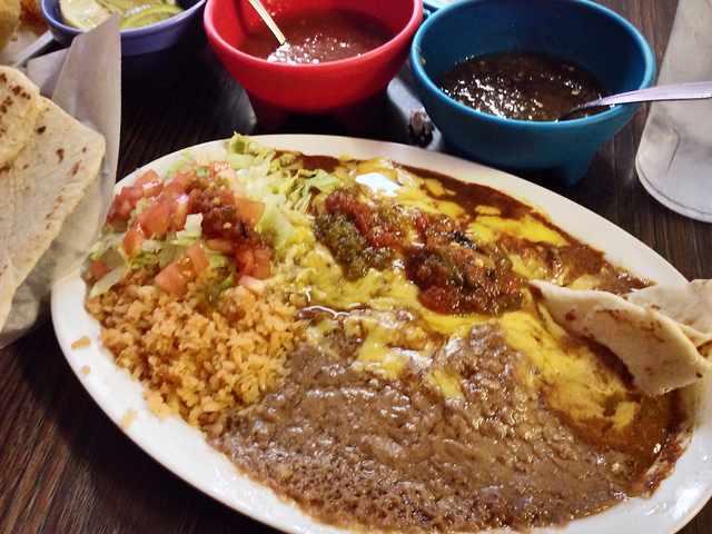 A Super Taco at Rolando's