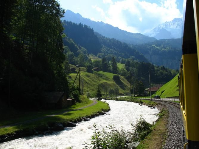 Lütschine River