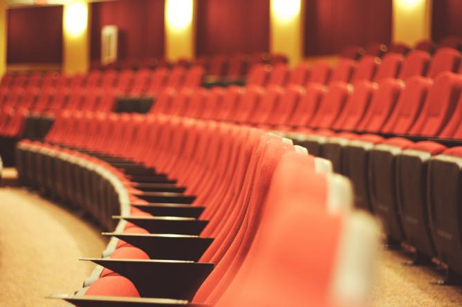 Theater seating   © David Joyce/Flickr