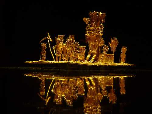 The Muisca Raft at the Gold Museum| © Guillermo Vasquez/Flickr