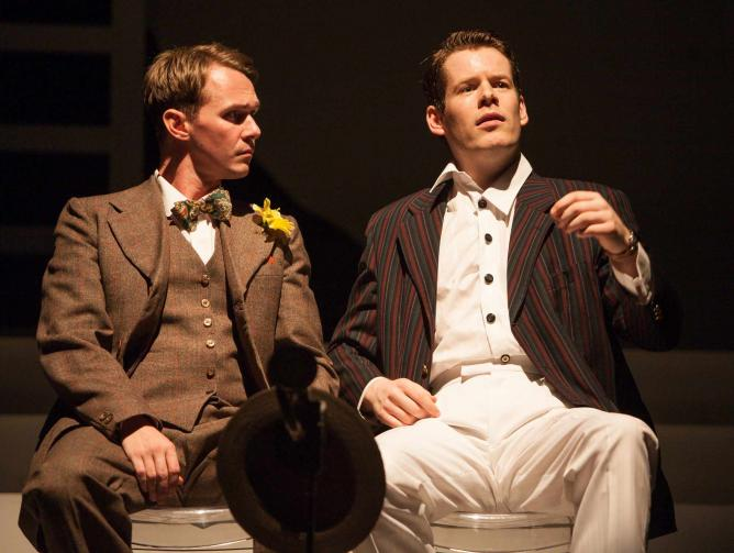 Adam Jowett and Max Roll in 'The Great Gatsby' | © Mark Holiday
