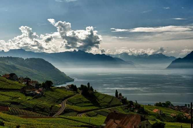 Lavaux Wine Terraces | © Gustave Deghilage/Flickr