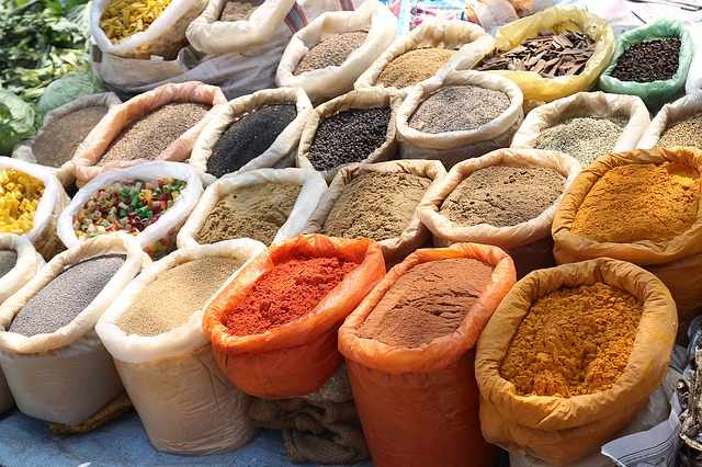 Indian Spices | © pixabay