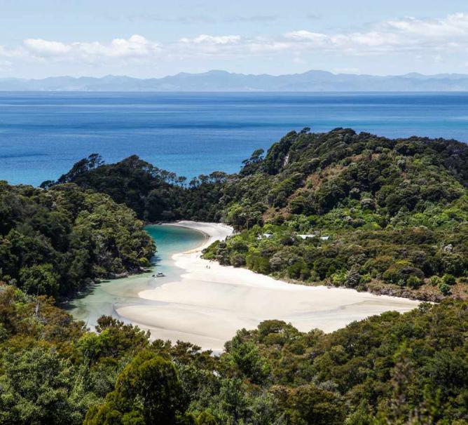 The Abel Tasman National Park Coast Track