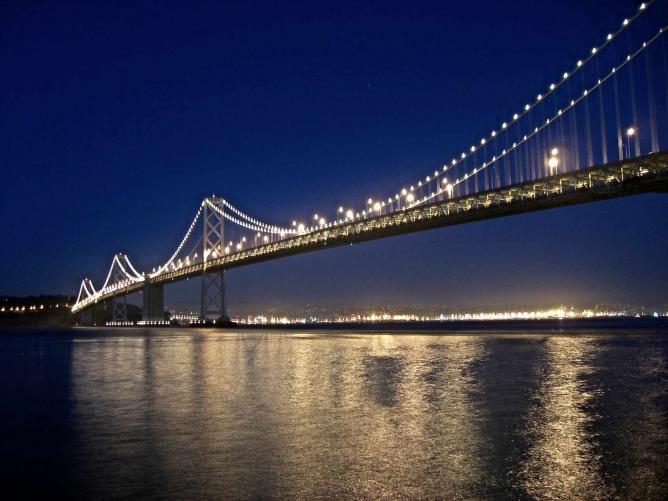 San Francisco Bay at Night