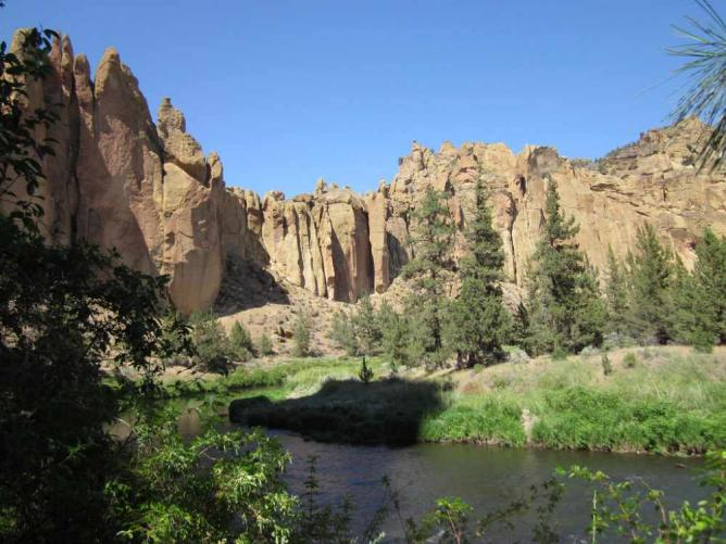 Smith Rock State Park, Deschutes County | © Doug Kerr/Flickr