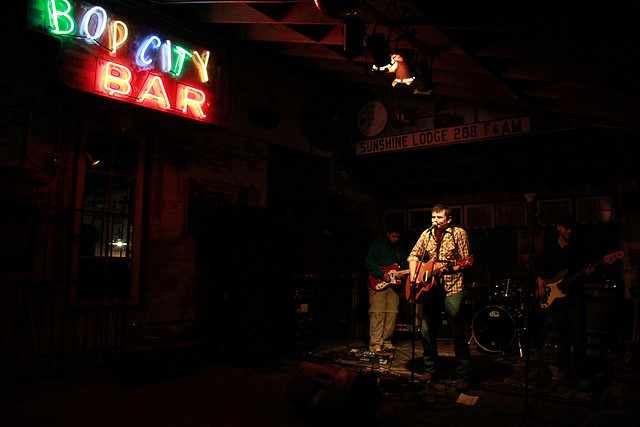 The Nine Volts at New World Brewery