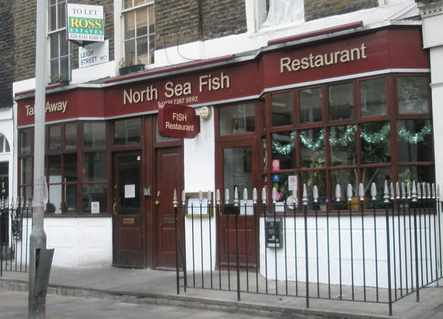 Exterior of North Sea Restaurant © North Sea Restaurant