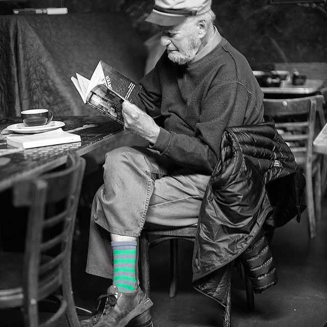 Lawrence Ferlinghetti | © Christopher Michel/Flickr