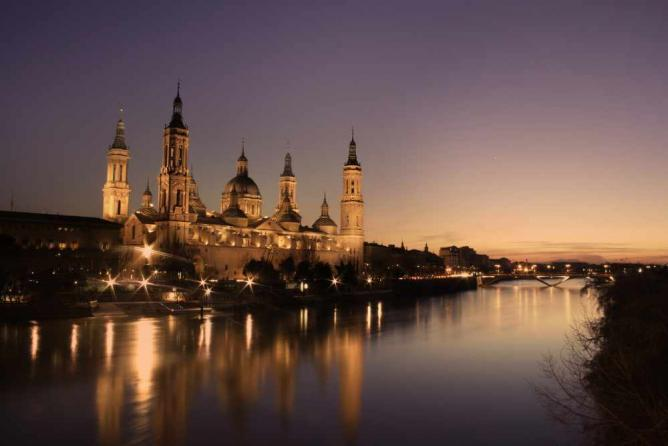 Basilica of Our Lady of the Pillar, Zaragoza | © Juanedc/Flickr