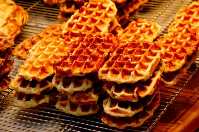 Waffles in Brussels | © Jacques Renier/WikiCommons
