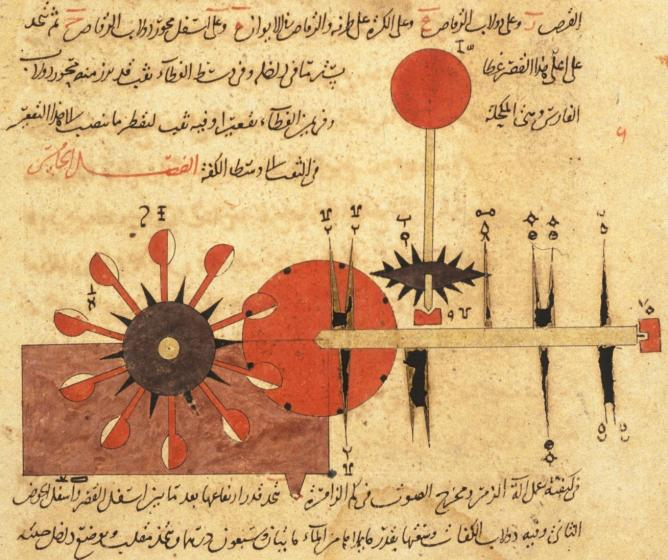 Arabic Machine Manuscript | © Anonymous/WikiCommons