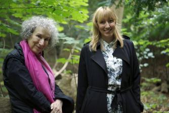 Margaret Atwood and Katie Paterson | © Giorgia Polizzi