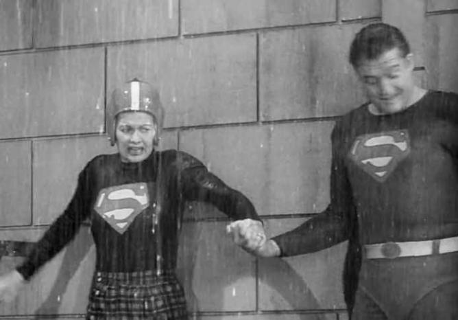 """Lucy and Superman"" | Gabby Shacknai"