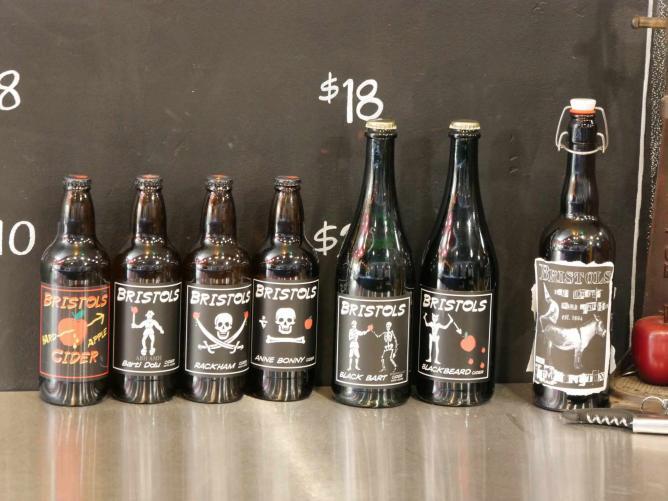 Bristol Cider House Ale selections | © Paul & Teresa Lowe
