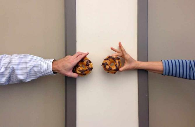 two donuts   © PROBarbara Eckstein/Flickr