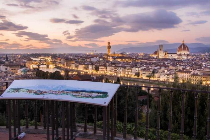 View from Piazzale Michelangelo | © Luftphilia/Flickr
