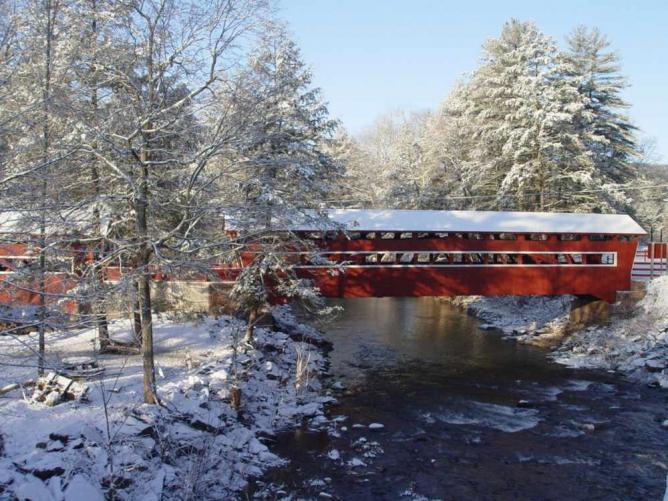 East and West Paden Twin Covered Bridge | Courtesy of Columbia-Montour Visitors Bureau