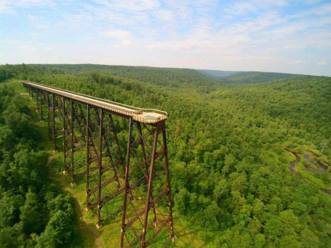 Kinzua Sky Walk, Mount Jewett, McKean County | Courtesy of Allegheny National Forest Visitors Bureau