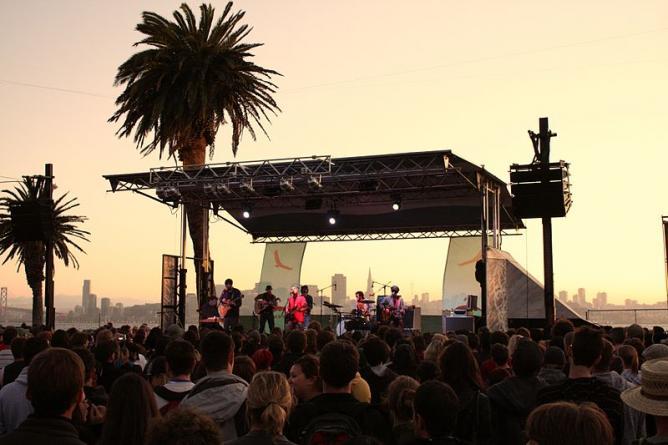 Treasure Island Music Festival © Wikimedia