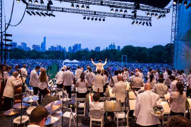 NY Philharmonic in Central Park | © Chris Lee