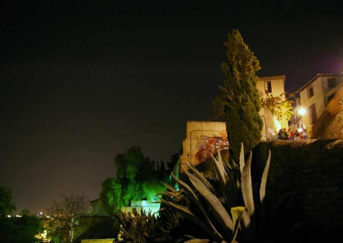 Albaicin at Night | © gaelx/Flickr