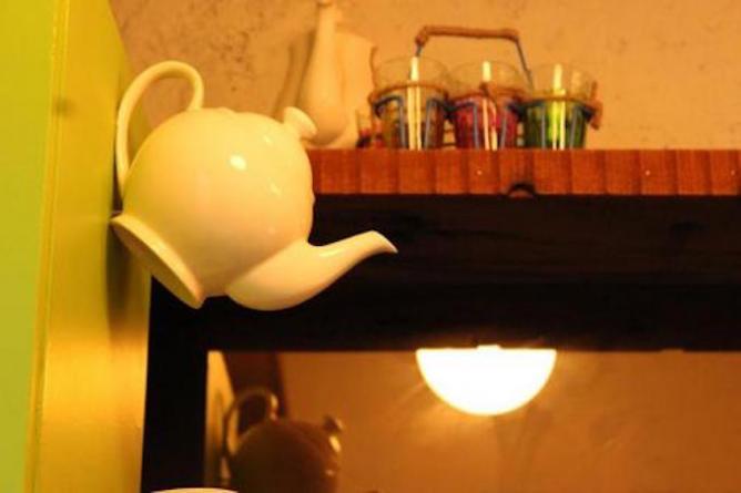 Quirky interiors at Tea and Tea   © Tea and Tea