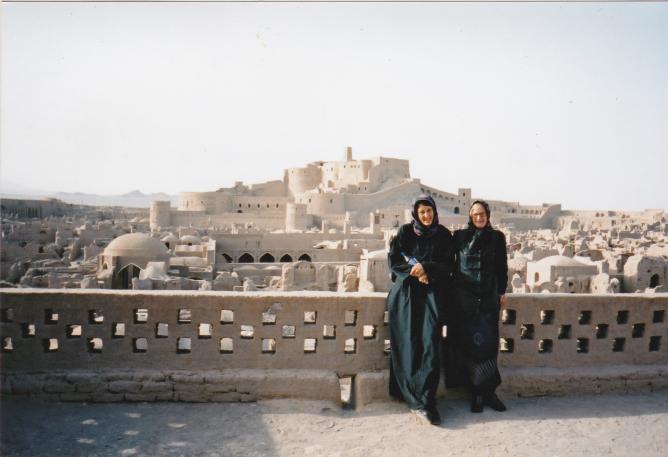 Karen Neale in Iran | © Courtesy of Karen Neale