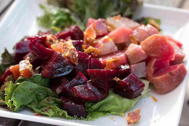 Beet Salad at Farmhouse