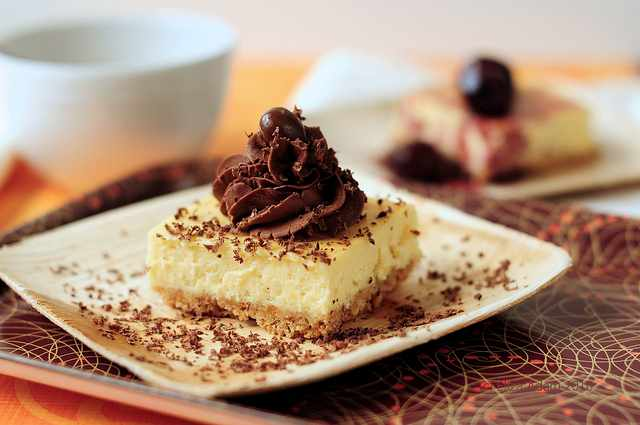 Zabaglione cheesecake   © Eliza Adam/Flickr