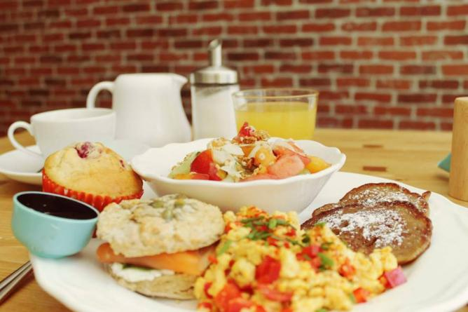 Café Noisette's brunch | Courtesy of Café Noisette