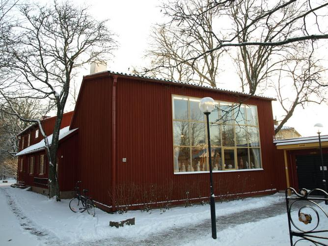 """Bror Hjorths Hus"", a museum of art in Uppsala"