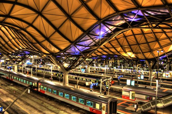 most beautiful train stations across the globe. Black Bedroom Furniture Sets. Home Design Ideas