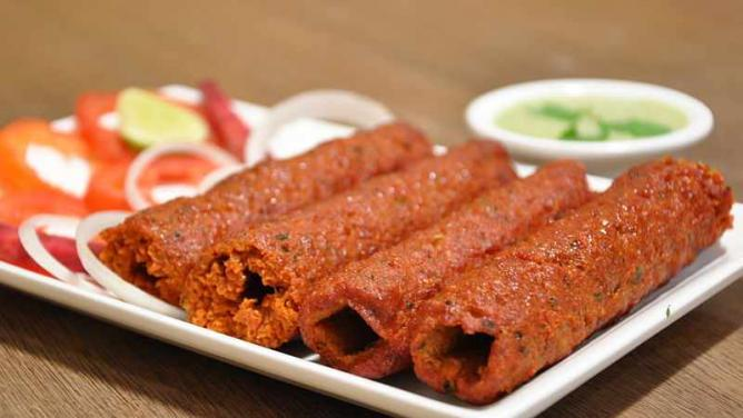 Mutton Seekh Kabab | © Dheerajk88/WikiCommons