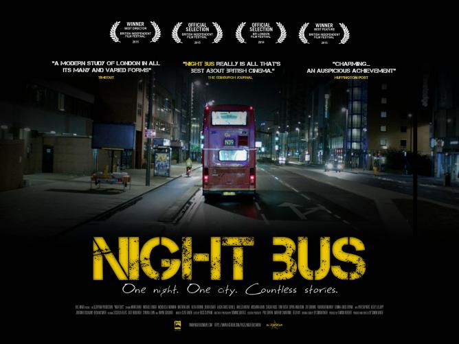 night bus poster courtesy of simon baker